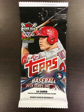 TOPPS BASEBALL 2018 SERIES ONE (1 SEALED PACK)!!