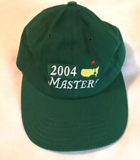 Vintage Masters 2004 Green Adjustable Baseball Hat Cap 2e92b56ed8e5