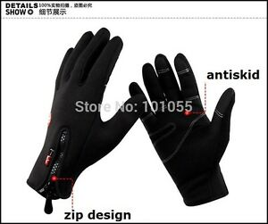 Winter Warm Bicycle Cycling Gloves Outdoor Sports Windstopper Gloves Windproof