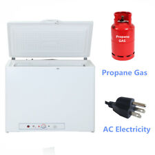 7.1 Cu Ft Chest LPG Gas Freezer Fridge Propane Gas/ Electric Home Cabin Vehicle