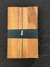 Tigerwood / goncalo alves pen blanks / small turning blanks