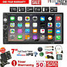 """2 DIN 7"""" Inch HD 1080P Car MP5 FM Player Touch Screen Stereo Radio + Rear Camera"""