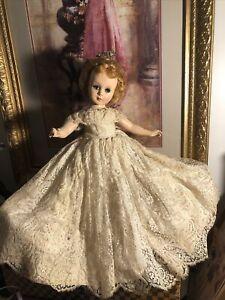 "Pretty!! Nancy Ann Style Show Doll 1950's All Original 18"""