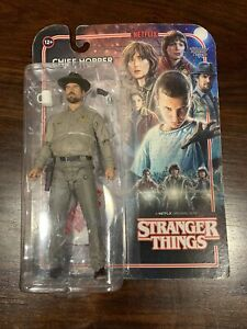 Mcfarlane Toys Stranger Things Chief Hopper Action Figure Netflix New