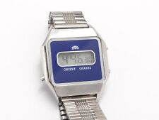 Orient Quartz LCD Digital Retro,Date,Unisex Sammler,Armbanduhr,Japan,Wrist Watch