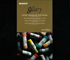 Mungyo Gallery Handmade Soft Pastel 30Pack Assorted Color Gradation Professional