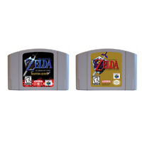 N64 Game The Legend of Zelda Ocarina of Time  For US/CAN Version Battery Save