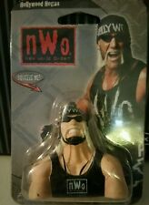 NEW!! 1999 WCW NWO WWE HOLLYWOOD HULK HOGAN Squeezies Keychain Squeezable