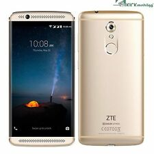"NEW 5.2"" INCH ZTE AXON 7 MINI DUAL-SIM 32GB GOLD FACTORY UNLOCKED 4G/LTE SIMFREE"