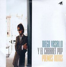 DIEGO VASALLO Y EL CABARET POP POEMAS ROTOS CD Single DUNCAN DHU