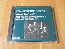 Budapest String Quartet - Beethoven : String Quartets Nos. 10, 11 & 17 - CD CBS