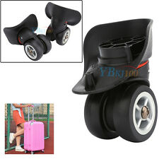 2PCS Swivel Universal Wheel Replacement Luggage Suitcase Wheels For Bags Plastic