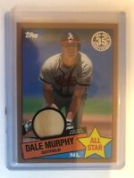2020  Topps  Dale Murphy  85' All Star  GOLD  GU Relic Parallel  #85ASR-DMU #/50