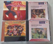 Salsa Around World Hottest Mariachi Mexico Latin Guitar Spanish 4 CDs Free Ship
