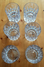 6 Nachtmann Bleikristall Whisky Gläser Patrizia