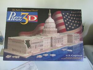 Milton Bradley 3D Puzzle U.S. Capitol