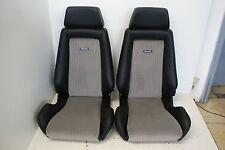 Recaro asientos de cuero-tela para Opel-WV escarabajo-t2-t3 y oldteimer par nuevo referido