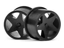 #114276 HPI RACING Q32 SUPER STAR WHEEL SET (BLACK/4PCS) [Drivetrain] NEW!