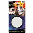 14g Grease Based Theatre Face & Body Paint Make Up Palette Pallet White