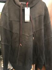 True Religion Black Moto Sweat Suit (Pull Over Hoodie And Sweat Short) Large