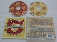 2 CD LES ENFOIRES LE BAL DES 2012 GOLDMAN BRUEL SHY'M MC SOLAAR ZAZIE ZAZ