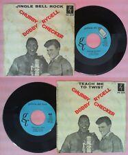 LP 45 7'' CHUBBY CHECKER BOBBY RYDELL Jingle bell rock Teach me to no cd mc dvd