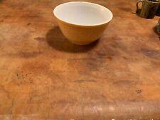 PYREX Nesting Mixing Bowls Set of WOODLAND Brown-Mustard-White # 402