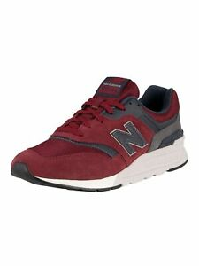 New Balance Men's 997H Suede Trainers, Red
