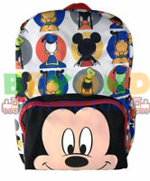 """New Disney Mickey Mouse Club House & Friends 16"""" Kids Back to School Backpack"""