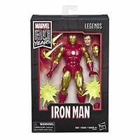 "Hasbro Marvel Legends Series 80th Anniversary 6"" Iron Man Figure MINT**"