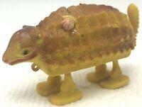 Vintage Marx Plastic Dinosaur Ankylosaurus Ramp Walker Toy Figure Armadillo