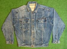 Denim Coca Cola Jacket Size Medium Trucker Jean Vintage Coke