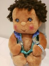 AA Kenner Hugga Bunch Doll Bubbles 1980  blue eyes curly hair outfit! 💜
