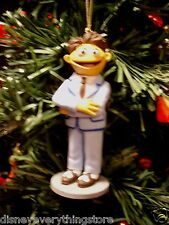 DISNEY MUPPETS WALTER IN HIS BLUE SUIT CUSTOM CHRISTMAS ORNAMENT NEW