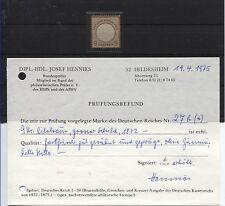 D.R. 27 b ungebraucht mit BPP-Prüfungsbefund (B03646)