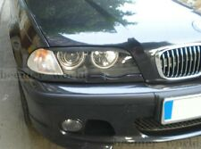 BMW e46 eyebrows lids, genuine  ABS plastic 98-04 headlamps spoilers eyelids