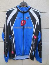 Maillot cycliste ROCKRIDER DECATHLON manches longues bleu XL