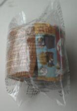 CHICKEN LITTLE CHARACTER  IN A BARREL  MCDONALDS HAPPY MEALTOY2006