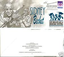 Sidney Bechet New Orleans Jazz Fest Cachets (#9)