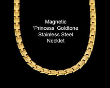 Magnetic Princess Gold Stainless Steel Necklet
