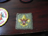 Vintage Embroidered Boy Scout Patch LOOK