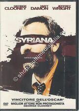 SYRIANA - George Clooney DVD NUOVO!