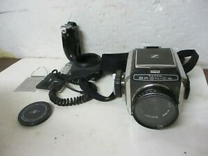 Vintage Zenza Bronica Camera 6x6 W Nikkor-P 7.5cm F2.8 Lens