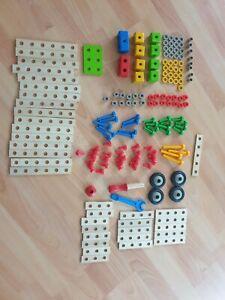 HEROS Constructor 170 Teile /Baukasten/Werkzeuge