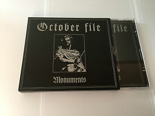 Monuments 2005  CD by October File 803341215528