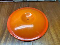 Le Creuset P20 Flame Orange Cast Iron Enamel Sauce Pan Pot  LID ONLY - No Handle