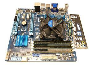 @VERY RARE@ GIGABYTE Z77MX-D3H TH dual thunderbolt motherboard + i5 cpu + 16gb