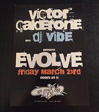 2007 WMC Club Flyer: EVOLVE w/ VICTOR CALDERONE, DJ VIBE @ TWILO MIAMI