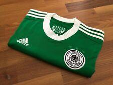original Deutschland DFB Adidas EM Trikot von 2012 Gr. M grün away wie NEU