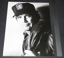 PHOTO TELEVISION 1982 ANTENNE 2 HOMME QUI TOMBE A PIC LEE MAJORS FALL GUYS COLT